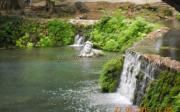 Η Προτομή της νύμφης Έρκυνας μέσα στο ποτάμι