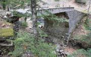 Γκρεμισμένο Γεφύρι Στο Δρόμο Για Το Αθαμάνιο