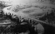 Η γέφυρα στου Αγιούς φωτογραφημένη το 1917 από το Γαλλικό εκστρατευτικό σώμα